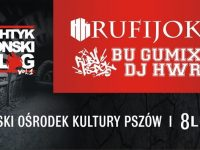 Plakat koncertu HK Rufijok i Ruby Szpek w Pszowie