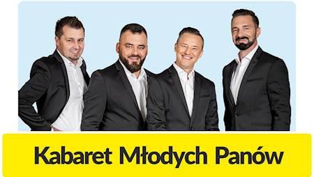 Nowy termin występu Kabaretu Młodych Panów